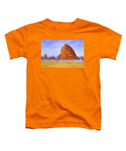 Hay Stack Rock Toddler T-Shirt