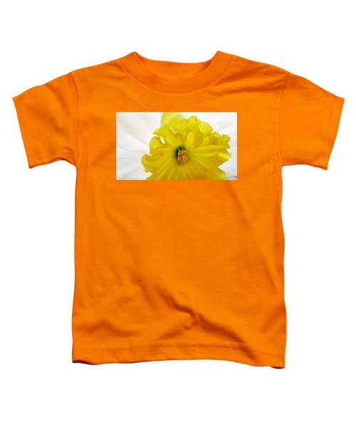 Heart Of A Daffodil  Toddler T-Shirt