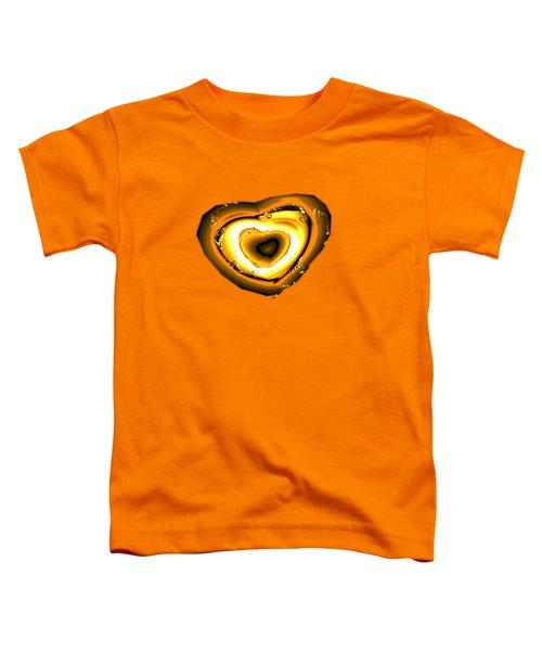 Heart Of Gold Toddler T-Shirt