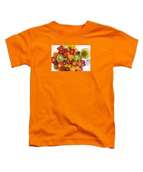 Heirloom Tomato Slices Toddler T-Shirt
