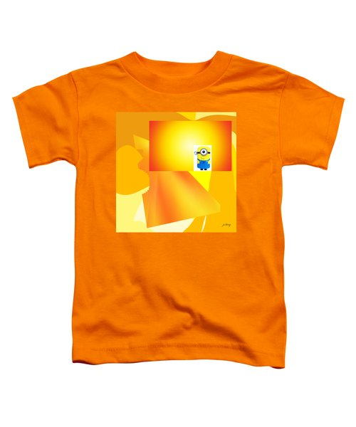 Hello Yellow Toddler T-Shirt by Jacquie King