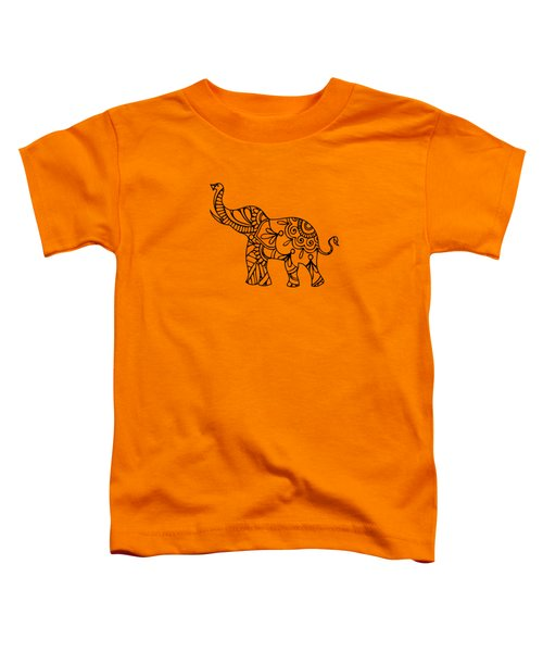 Henna Elephant 2 Toddler T-Shirt