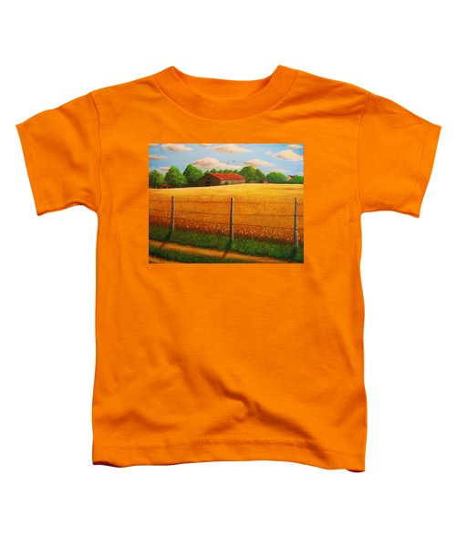 Home On The Farm Toddler T-Shirt
