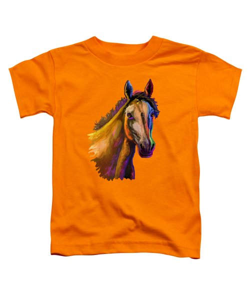 Horse Head Toddler T-Shirt