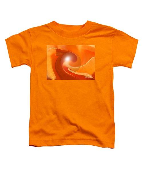 Hot Orange Globe Toddler T-Shirt