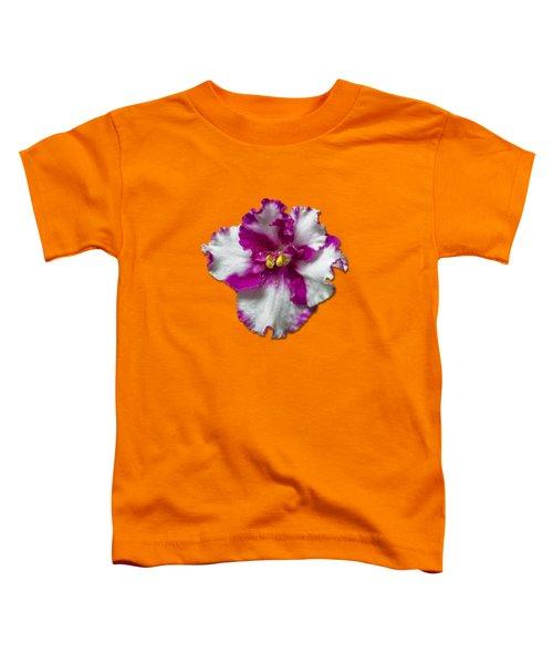 Hot Pink Flower Toddler T-Shirt