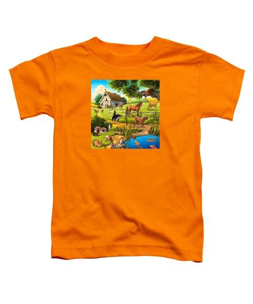 House Animals Toddler T-Shirt