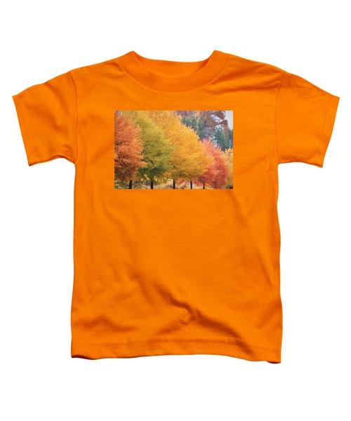 October Trees Toddler T-Shirt