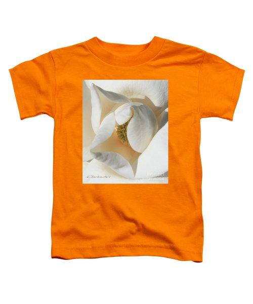 Illuminated Magnolia Macro Toddler T-Shirt
