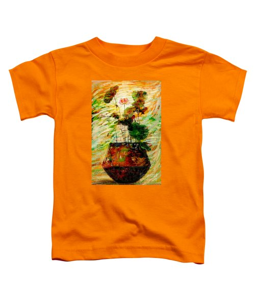 Impression In Lotus Tree Toddler T-Shirt