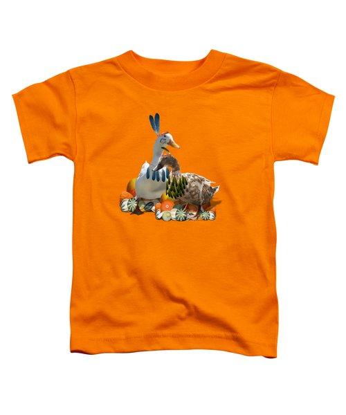 Indian Ducks Toddler T-Shirt
