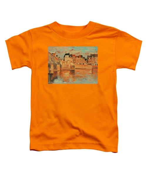 Indian Summer Sunday Sunset Toddler T-Shirt