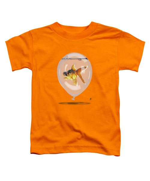 Inflated Wordless Toddler T-Shirt by Rob Snow