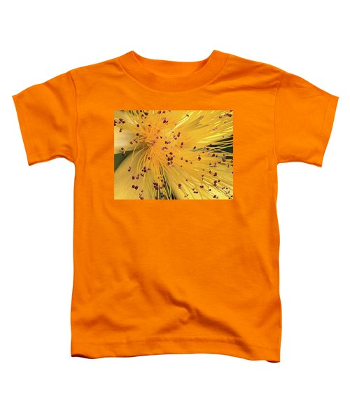 Inside A Flower - Favorite Of The Bees Toddler T-Shirt
