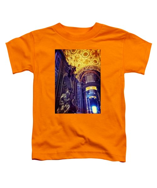 Interior Of St Peter's Basilica Toddler T-Shirt