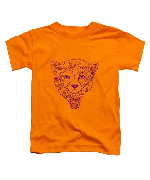 Iranian Cheetah Toddler T-Shirt by Adam Campbell