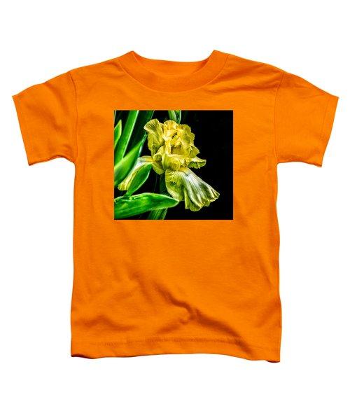 Iris In Bloom Toddler T-Shirt