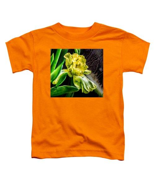 Iris In Bloom Two Toddler T-Shirt