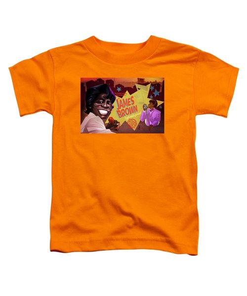 James Brown Toddler T-Shirt