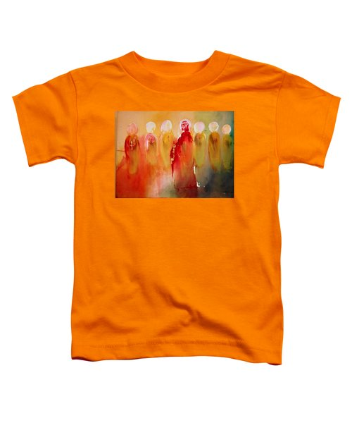 Jesus With His Apostles Toddler T-Shirt