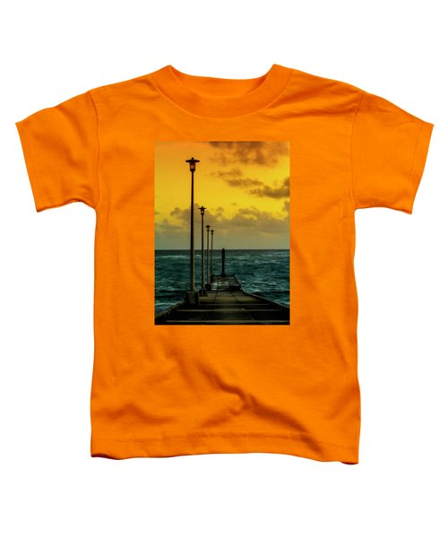 Jetty At Sunrise Toddler T-Shirt