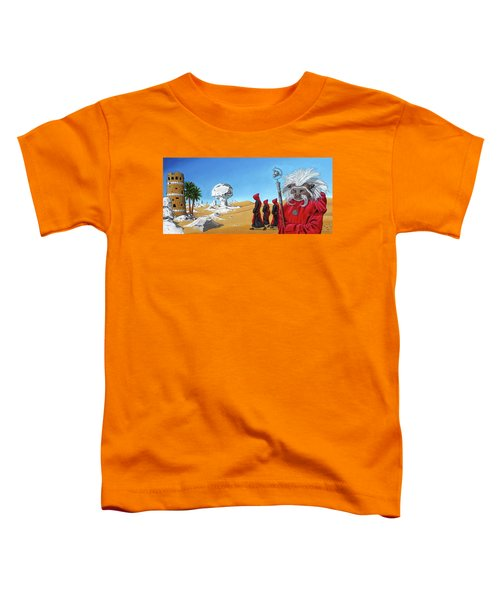 Journey To The White Desert Toddler T-Shirt