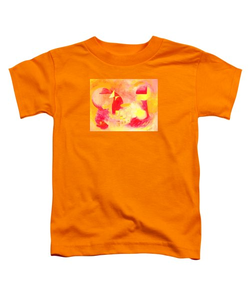 Joyful Abstract Toddler T-Shirt