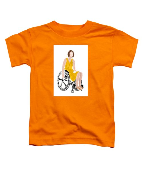 Toddler T-Shirt featuring the digital art Kelly by Nancy Levan