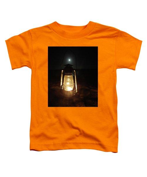 Kerosine Lantern In The Moonlight Toddler T-Shirt