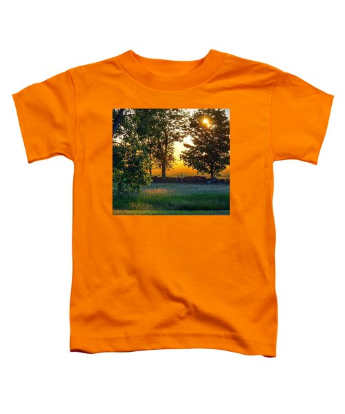 Kingsbury Sunset Toddler T-Shirt