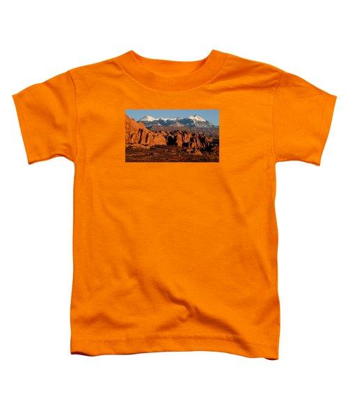 La Sal Mountains Toddler T-Shirt