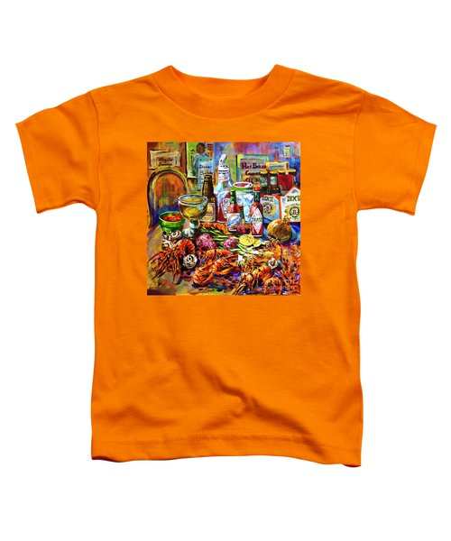 La Table De Fruits De Mer Toddler T-Shirt