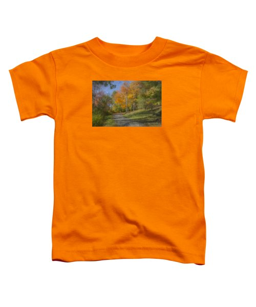 Langwater Path In October Toddler T-Shirt