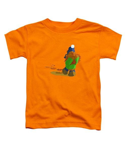 Leaf Moving Duties Toddler T-Shirt