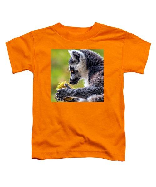 Lemur And Sweet Chestnut Toddler T-Shirt