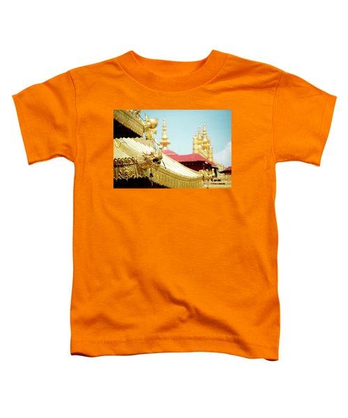 Lhasa Jokhang Temple Fragment Tibet Toddler T-Shirt