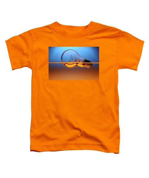Light Bulb In Water Toddler T-Shirt