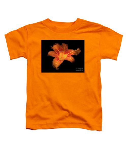 Lily Raindrops In Giverny, France Toddler T-Shirt