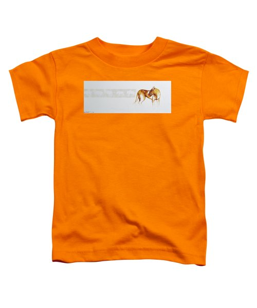 Lioness And Wildebeest Toddler T-Shirt