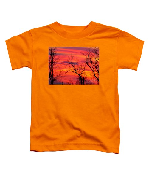 Little More Color At Sunset Toddler T-Shirt