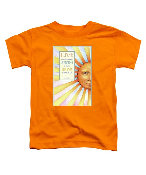Live In The Sunshine Toddler T-Shirt