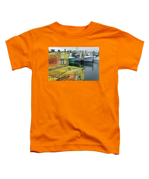 Lobster Traps In Galilee Toddler T-Shirt