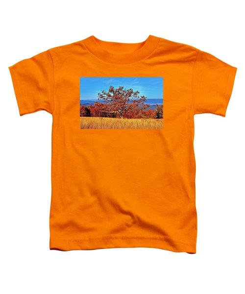 Lone Mountain Tree Toddler T-Shirt