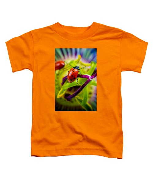 Look At The Colors Over There. Toddler T-Shirt