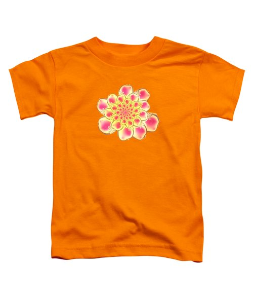 Lotus Toddler T-Shirt by Anastasiya Malakhova