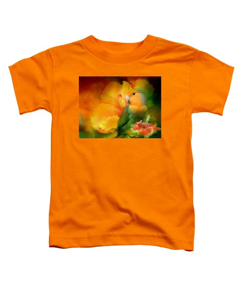 Love Among The Hibiscus Toddler T-Shirt