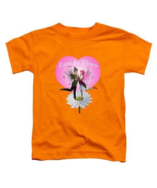 Love In Bloom Toddler T-Shirt