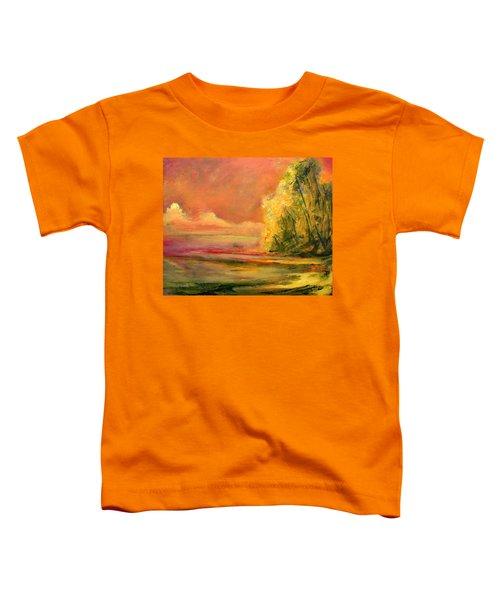 Luminous Sunset 2-16-06 Julianne Felton Toddler T-Shirt
