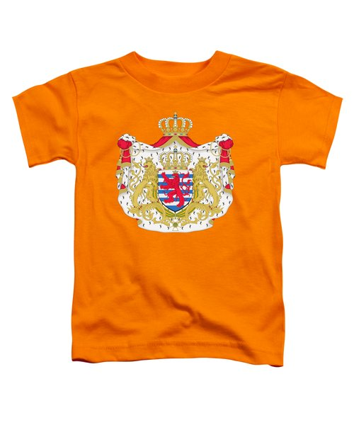Luxembourg Coat Of Arms Toddler T-Shirt