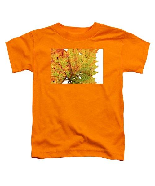 Macro Autum Toddler T-Shirt